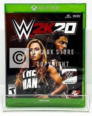 WWE 2K20 - Xbox One - Brand New   Factory Sealed