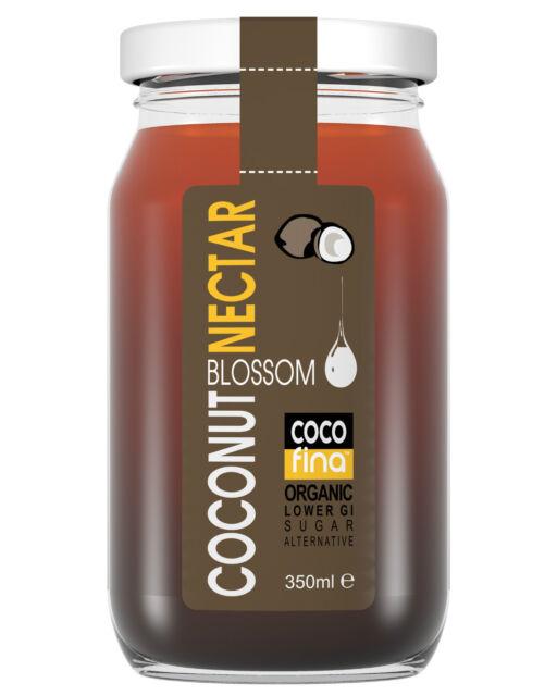 Organic coconut blossom nectar sugar syrup sweetener 350ML unrefined