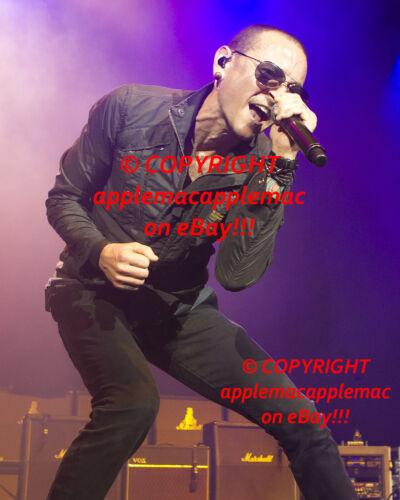 CHESTER BENNINGTON Linkin Park Live 8 x 10  Photo Print  ORIGINAL UNPUBLISHED