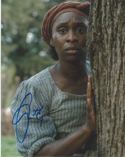 CYNTHIA ERIVO SIGNED 'HARRIET' MOVIE 8x10 PHOTO A w/COA THE COLOR PURPLE TUBMAN