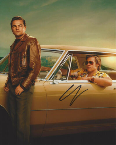LEONARDO DICAPRIO SIGNED 'ONCE UPON A TIME IN HOLLYWOOD' 8x10 PHOTO COA PROOF