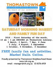 Thomastown Saturday morning market and family fun day Surfers Paradise Gold Coast City Preview