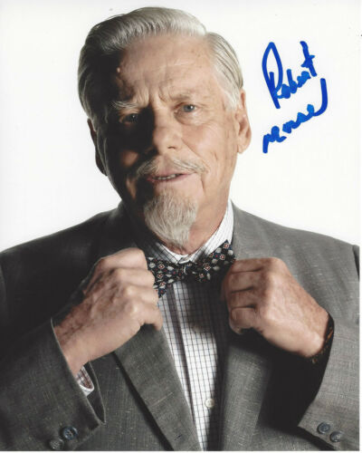 ROBERT MORSE SIGNED AUTHENTIC MAD MEN 'BERT COOPER' 8X10 PHOTO G w/COA ACTOR