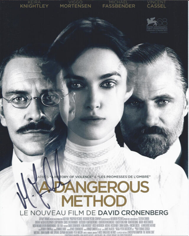 MICHAEL FASSBENDER SIGNED A DANGEROUS METHOD 8X10 PHOTO W/COA 300 X-MEN