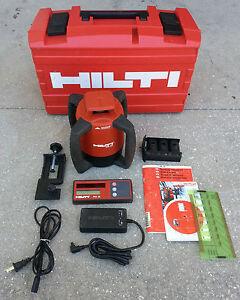 Hilti Rotating Self Leveling Laser Level Pr 20 W Receiver