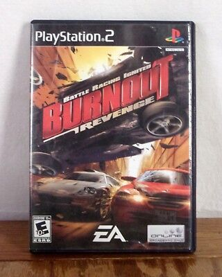 Burnout Revenge Playstation 2 Video Game EA 2005 Complete Tested for sale  Shipping to Nigeria