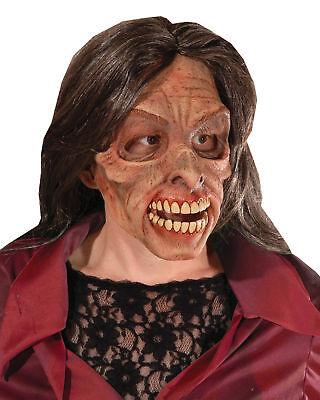 Mrs.Lebende Tote Wandern Zombie Erwachsene Latex Maske Unheimlich Thema - Zombie Wanderer Kostüm