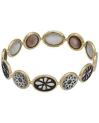 Ippolita Polished Rock Candy 18k Gold MoP Bracelet GB635SABBIA