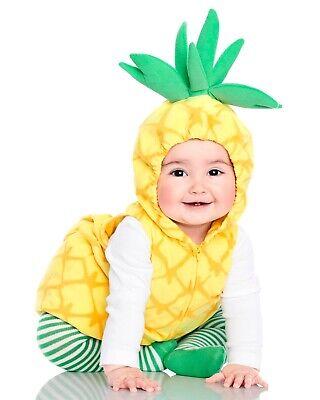 Carter Halloween Costumes (Carters Boy Girl Little Pineapple Halloween Costume NWT)