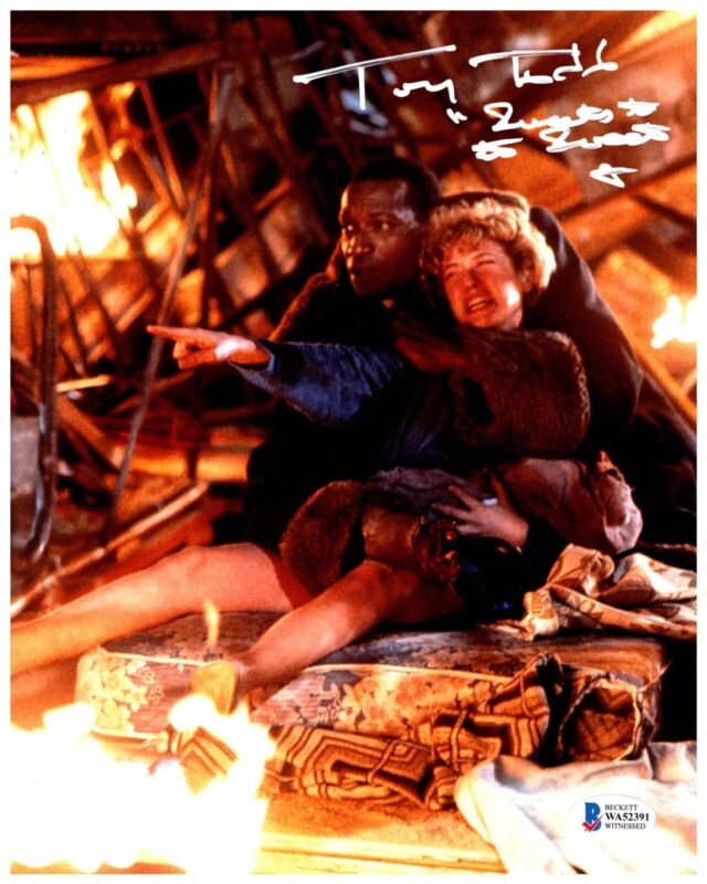 TONY TODD signed 8x10 Photo CANDYMAN Horror Movie Sweets to the Sweets Beckett