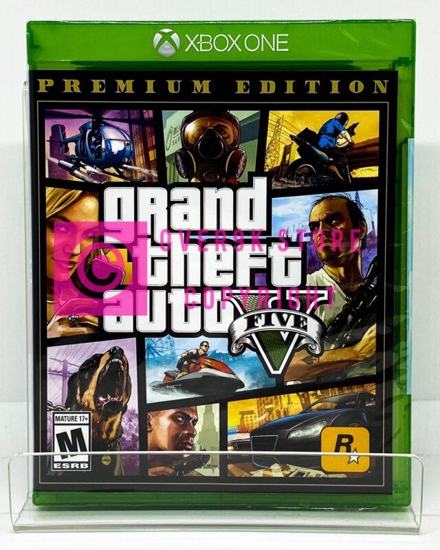 Grand Theft Auto V Premium Edition GTA 5 - Xbox One - Brand New | Factory Sealed