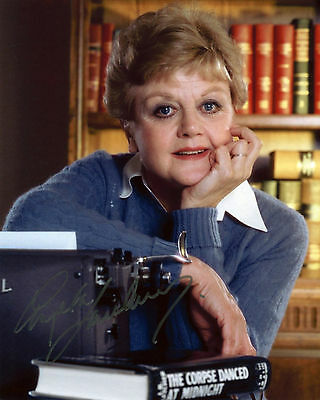 Angela Lansbury - Jessica Fletcher - Murder She Wrote - Signed Autograph REPRINT
