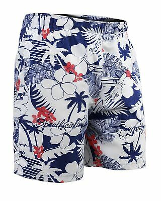 Shorts Mare Uomo GIROGAMA Costume Boxer Pantaloncino Basic Hawaiano 5382IT