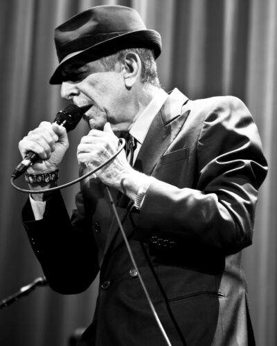 Leonard Cohen - 8x10 B&W Photo