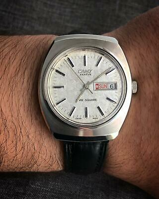 Vintage Camy Geneve Time-square Automatic Gents Watch,SWISS