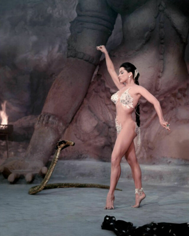 Debra Paget Dance Of The Serpent 8x10 Picture Celebrity Print