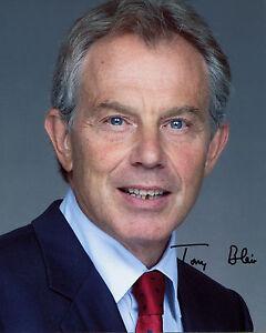 Tony Blair - Ex UK Prime Minister - Signed Autograph REPRINT