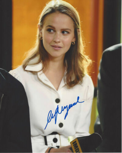 CLARA RUGAARD SIGNED AUTHENTIC 'I AM MOTHER' 8X10 PHOTO F w/COA ACTRESS PROOF
