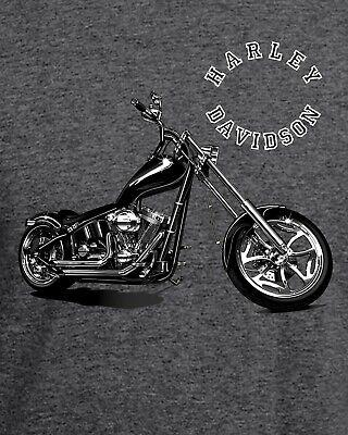 Harley Davidson T-Shirt   Ideal Birthday Gift or Bike Rally