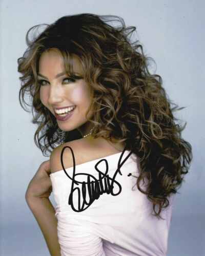 Thalia Autographed 8 x 10 Glossy Photo Reproduction