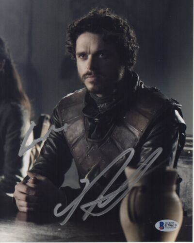 RICHARD MADDEN SIGNED GAME OF THRONES PHOTO 8X10 BODYGUARD AUTOGRAPH BAS COA 3