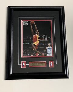 James Harden Houston Rockets Autographed Framed