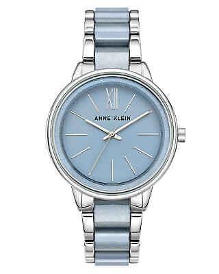 Anne Klein Light Blue Dial Ladies Watch 1413LBSV