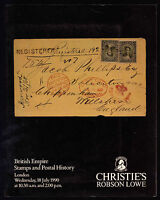 Christie' S Robson Lowe British Empire Stamps And Postal History 18 July 1990 -  - ebay.it