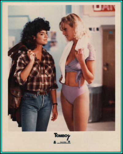 """BETSY RUSSELL & KRISTI SOMERS in """"Tomboy"""" - Original Vintage Photograph - 1985"""