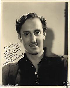 BASIL-RATHBONE-Signed-Photograph-Film-Star-Actor