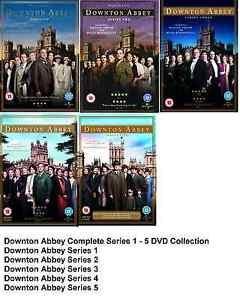 DOWNTON ABBEY COMPLETE SERIES DVD Set Season 1 2 3 4 5 All Episodes Box DONTOWN