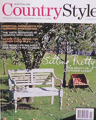 Country Style Magazine November 2005 The Taste Sensation Of Cooking With Olives