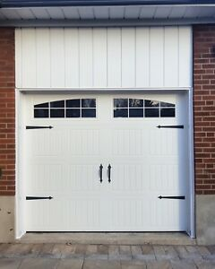 8x7 INSULATED CARRIAGE GARAGE DOORS........ $900 INSTALLED