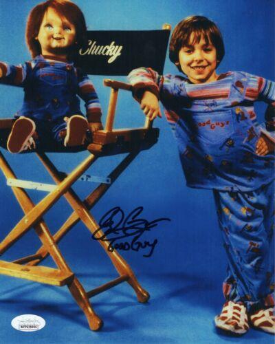 "Edan Gross Autograph Signed 8x10 Photo - Child's Play ""Good Guy Doll"" (JSA COA)"