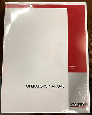 Case Ih 400 400 High Clearance Diesel Operators Manual