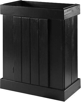 Aquarium Cabinet | Aqueon Pine Aquarium Stand | Black | 24 x 12in