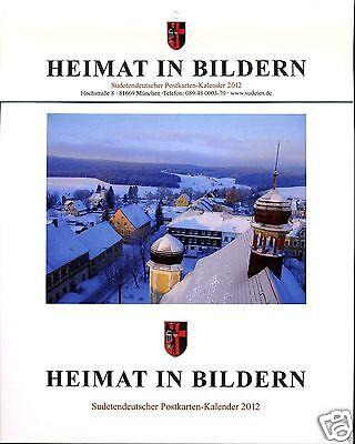 Heimat in Bildern: Sudetendeutscher Postkarten-Kalender 2012 !!!NEU!!!