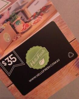 $35 HELLO FRESH GIFT CARD - CAN BE EMAILED Kings Meadows Launceston Area Preview