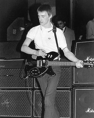"""Paul Weller The Jam Mods 10"""" x 8"""" Photograph no 11"""
