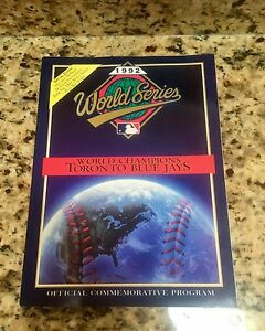 Toronto Blue jays 1992 World Series official commemorative