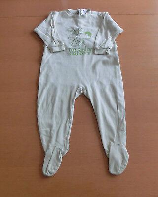 Niedlicher Strampler in Gr. 86 von C&A - Babystrampler Baby Nachtstrampler  gebraucht kaufen  Büren