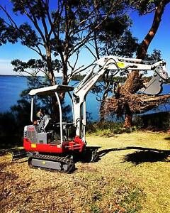 NARROW ACCESS E-MOVING(Bobcat Excavator Tipper Demolition Fill) Charlestown Lake Macquarie Area Preview