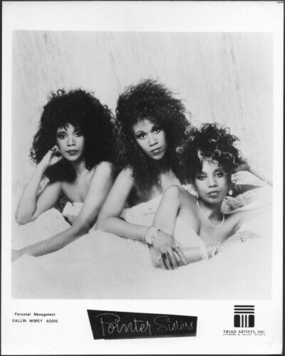 ~ The Pointer Sisters Original 1970s Agency Promo Photo R&B Soul Pop Dance