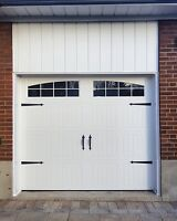 CARRIAGE GARAGE DOORS................. FROM $850 INSTALLED