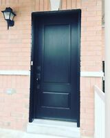Door installation PROFESSIONALLY INSTALLED