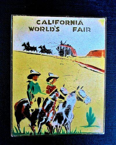 VINTAGE 1939 CALIFORNIA WORLD