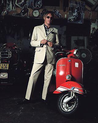 """Paul Weller The Jam mod scooter 10"""" x 8"""" Photograph no 1"""