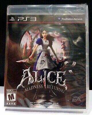 [PS3] ALICE MADNESS RETURNS - Nuovo Italiano + English JoyGames