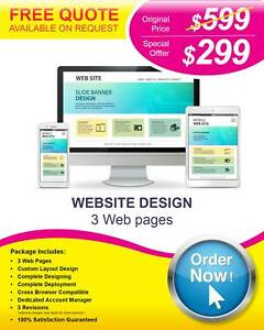 $299 Website Design and Development Services - Quality Designs