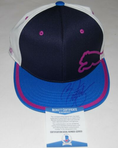 RICKIE FOWLER signed (ROOKIE OF THE YEAR) Puma Official Golf hat cap COA Beckett